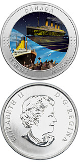 25 cents 100th Anniversary of the Sinking of the RMS Titanic - 2012 - Canada