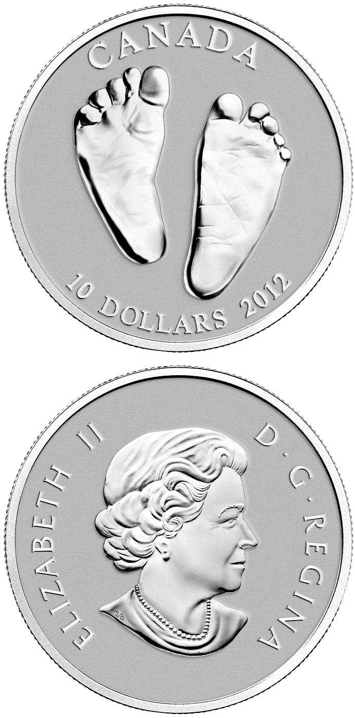 Image of a coin 10 dollars | Canada | Welcome to the World | 2012