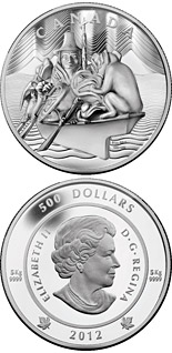 500 dollar coin The Spirit of Haida Gwaii | Canada 2012