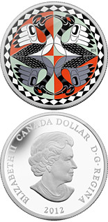 1 dollar Two Loons - 2012 - Canada