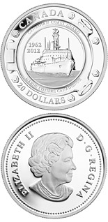 20 dollar coin 50th Anniversary of the Canadian Coast Guard | Canada 2012