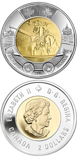 2 dollar coin 75th Anniversary of the Battle of the Atlantic | Canada 2016