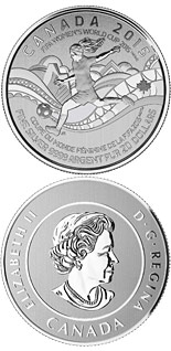 20 dollar coin FIFA Women's World Cup Canada 2015 | Canada 2015