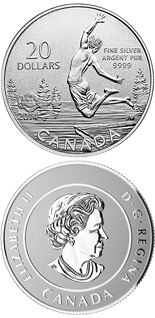 20 dollar coin Summertime | Canada 2014