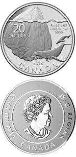 20 dollar coin Iceberg and Whale | Canada 2013