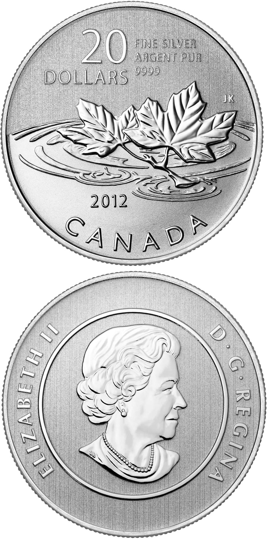 Image of a coin 20 dollars | Canada | Farewell To The Penny | 2012