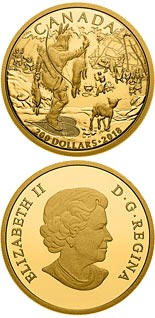 200 dollar coin First Nations | Canada 2018