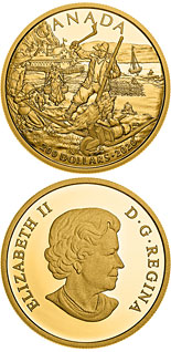 200 dollar coin New France | Canada 2020