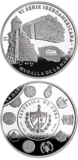 10 peso coin Architecture and Monuments – Havana | Cuba 2005