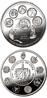 10 peso coin 20th Anniversary of the Ibero-American Series | Cuba 2012