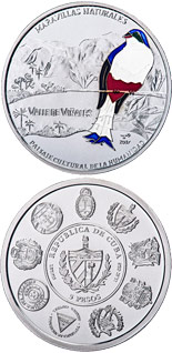 10 peso coin Wonders of nature | Cuba 2017