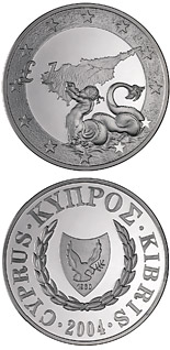 1 pound Triton, Cyprus's accession to the EU - 2004 - Series: Cypriot commemorative pound coins - Cyprus