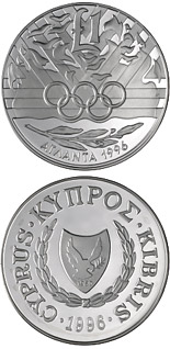 1 pound coin Atlanta Olympic Games | Cyprus 1996