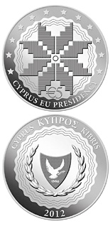 5 euro Cyprus Presidency of the Council of the EU - 2012 - Series: Silver 5 euro coins - Cyprus