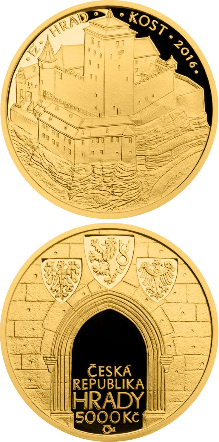 Castles In The Czech Republic The 5000 Korun Coin Series