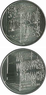200 korun 150th anniversary of the foundation of the School of Glassmaking in Kamenický Šenov - 2006 - Series: Silver 200 kronen coins - Czech Republic