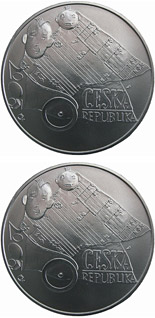 200 koruna coin 100th anniversary of birth of composer Jaroslav Ježek 20 September 2006 | Czech Republic 2006