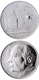 200 korun Birth of painter Kamil Lhoták - 2012 - Series: Silver 200 kronen coins - Czech Republic