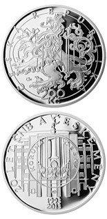 200 koruna coin 20 years of the CNB and Czech currency | Czech Republic 2013