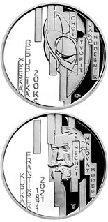 200 koruna coin 150th Anniversary of the Birth of František Kupka | Czech Republic 2021
