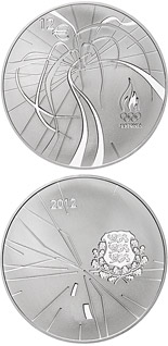 12 euro coin XXX Summer Olympic Games in London | Estonia 2012