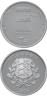 7 euro coin 100th Anniversary of the Birth of Raimond Valgre | Estonia 2013