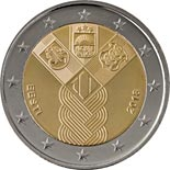 2 euro coin 100th Anniversary of the Baltic States | Estonia 2018