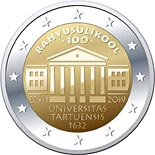2 euro coin University of Tartu | Estonia 2019
