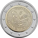 2 euro coin The Finno-Ugric Peoples | Estonia 2021