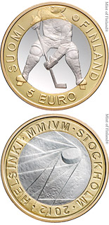 5 euro coin 2012 IIHF Ice Hockey World Championship | Finland 2012