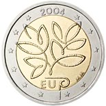 2 euro coin Fifth Enlargement of the European Union in 2004 | Finland 2004