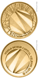 5 euro coin World Design Capital Helsinki 2012 | Finland 2012