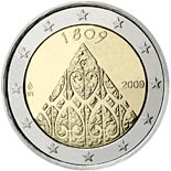 2 euro coin 200 years of Finnish autonomy | Finland 2009