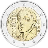 2 euro coin 150th Anniversary of the Birth of Helene Schjerfbeck | Finland 2012