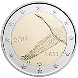 2 euro coin 200th anniversary of Bank of Finland  | Finland 2011