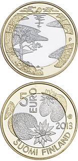 5 euro coin Northern Nature - Summer | Finland 2013
