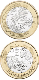 5 euro coin Northern Nature – Wilderness | Finland 2014