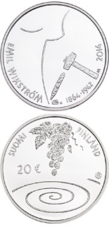 20 euro coin 400th Anniversary of the Birth of Emil Wikström | Finland 2014