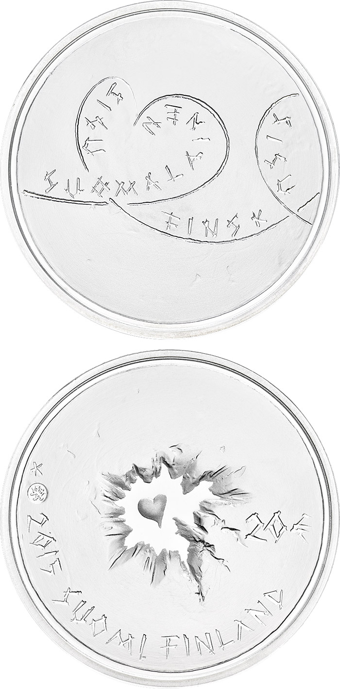 Image of 20 euro coin - Finnish Sisu collector coin | Finland 2015