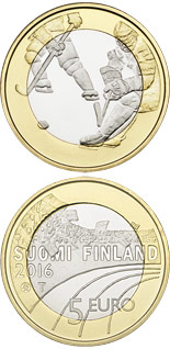 5 euro coin Ice Hockey | Finland 2016