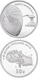10 euro coin 150th Anniversary of the Birth of Tapio Wirkkala | Finland 2015