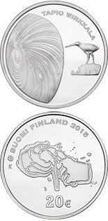 20 euro coin 150th Anniversary of the Birth of Tapio Wirkkala | Finland 2015