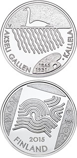 20 euro coin 150th Anniversary of the Birth of Akseli Gallen-Kallela | Finland 2015