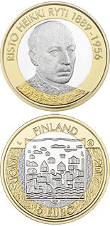 5 euro Risto Ryti - 2017 - Series: Presidents of Finland - Finland