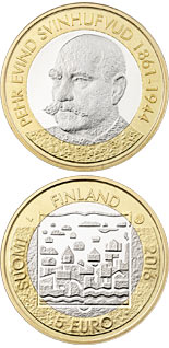5 euro P.E. Svinhufvud - 2016 - Series: Presidents of Finland - Finland