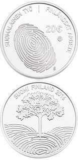 20 euro coin Finnish work | Finland 2016