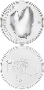 20 euro coin Mothers | Finland 2017