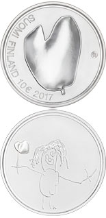 10 euro coin Mothers  | Finland 2017