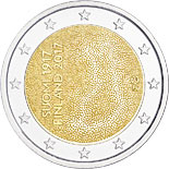 2 euro coin Independent Finland 100 Years  | Finland 2017