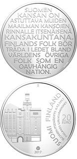 20 euro coin Finland's Independence 6 December 1917 | Finland 2017
